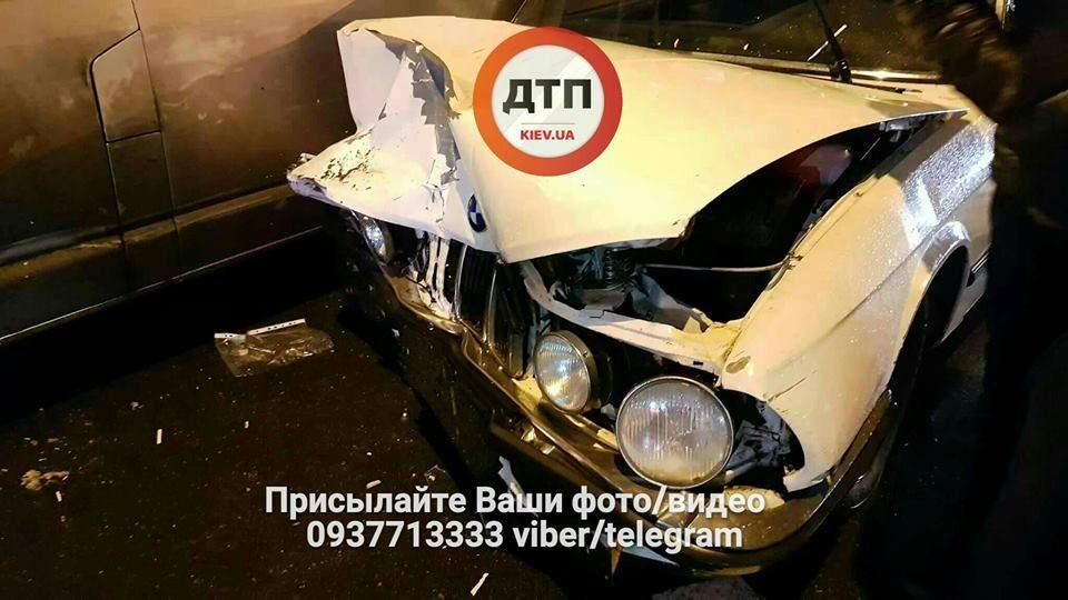 В столице столкнулись два авто и