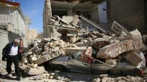 В результате мощного землетрясения в Иране погибли десятки людей (Видео)
