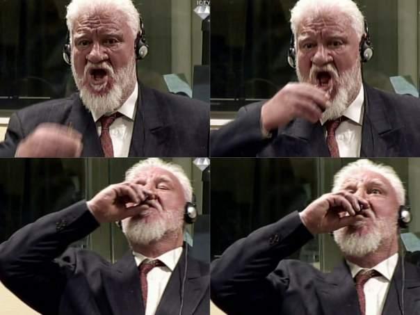В суде Гааги генерал отравился цианидом калия