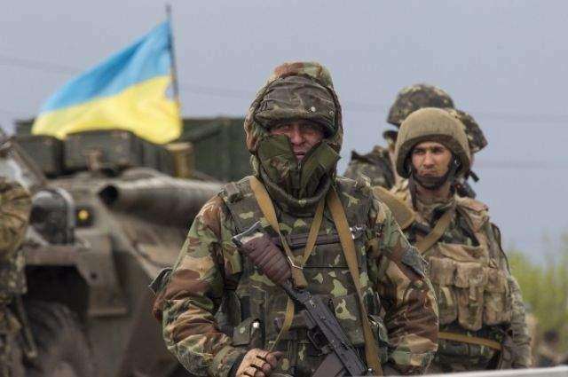 В зоне АТО в ходе обстрелов были ранены украинские солдаты