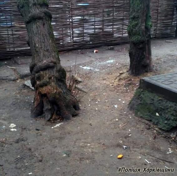 В Харькове вблизи метрополитена обнаружили опасный боеприпас (фото)