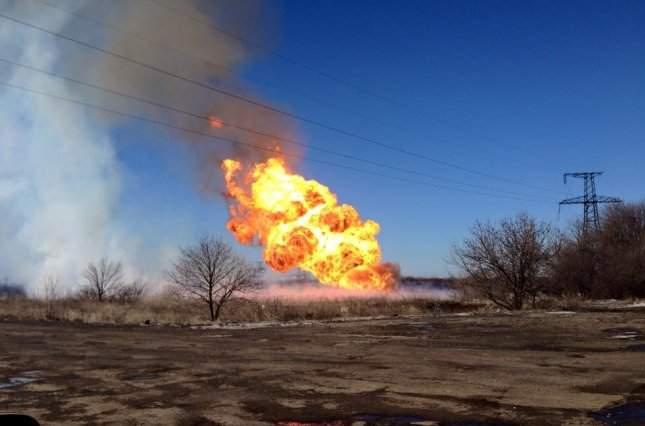 В штате Иллинойс на газопроводе произошло серьёзное ЧП (фото)