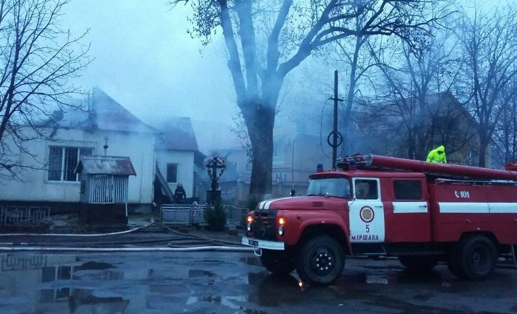 На Донбассе в страшном пожаре погиб новорожденный ребёнок