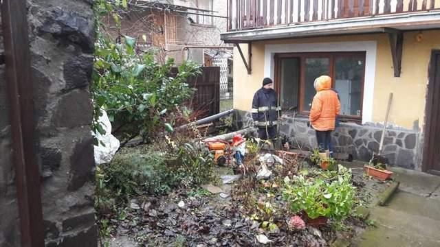 На Закарпатье из-за непогоды были подтоплены сельскохозяйственные угодия (Фото)