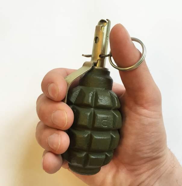В Запорожье мужчина травмировался в результате взрыва гранаты