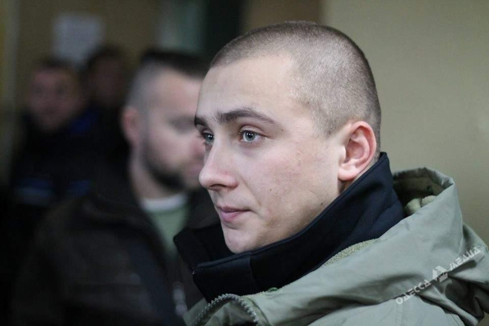 Одесского активиста Сергея Стерненко отправили под круглосуточный домашний арест (видео)