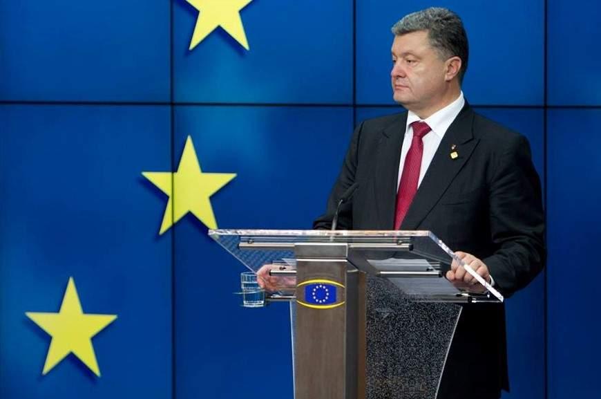 Порошенко поблагодарил ЕС за продление антироссийских санкций