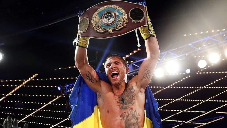 Украинец стал первым в списке лучших боксеров мира