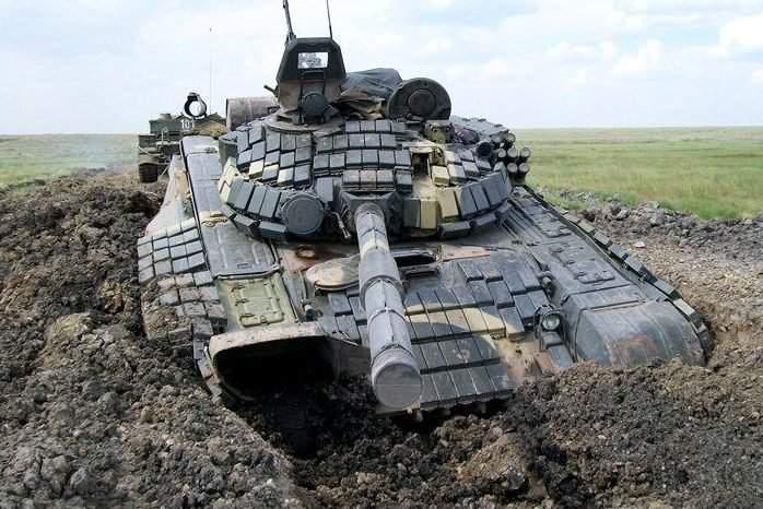 В зоне АТО работали танки и минометы. Пострадали воины ВСУ