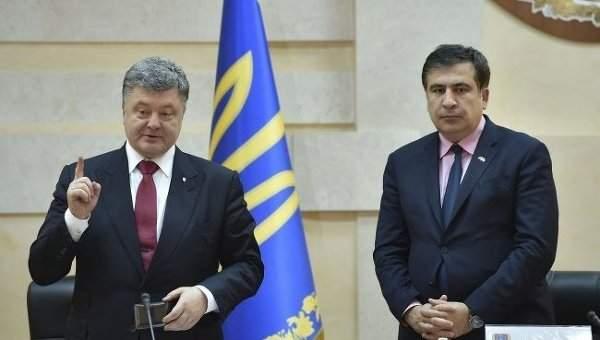 Саакашвили заявил, что не обвиняет Порошенко в пособничестве врагу