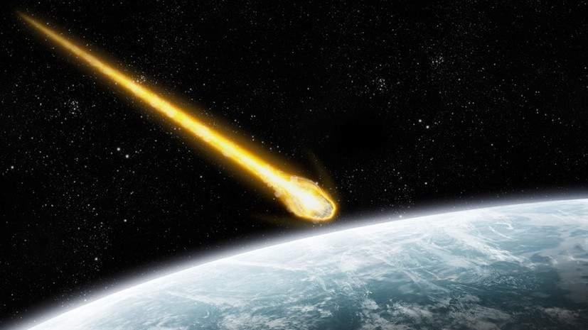 Жители Сочи наблюдали в небе горящий метеор (видео)