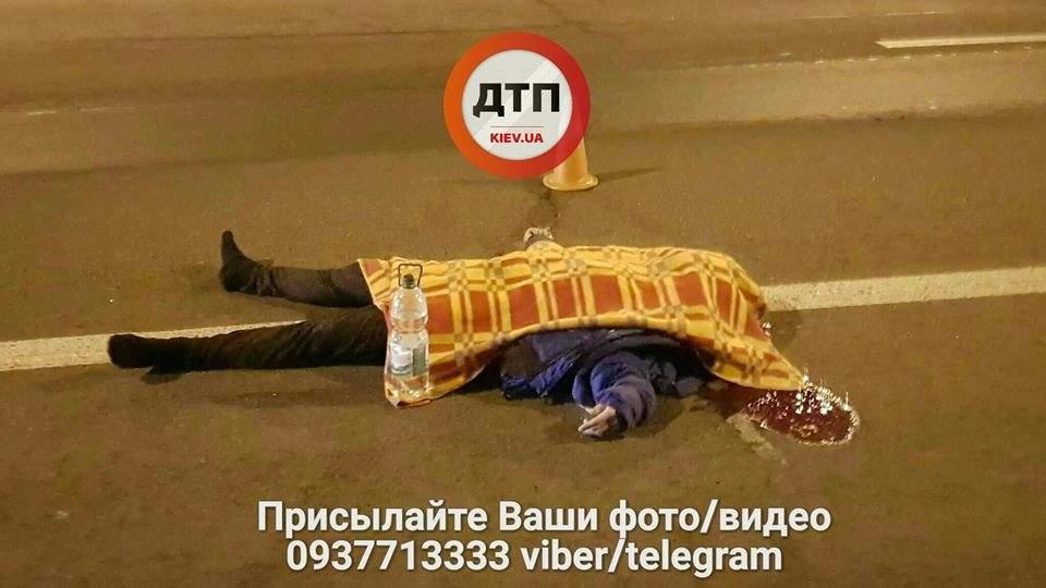 В Киеве пешеход-нарушитель погиб в страшном ДТП (Фото)