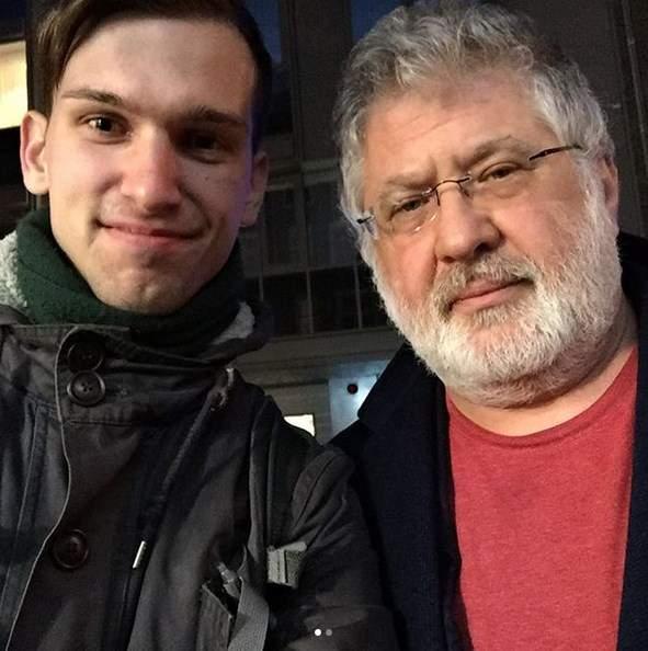Студент из Украины заметил Коломойского и Луценко на деловой встрече в Нидерландах (фото)