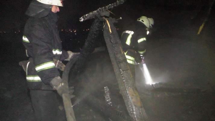 На Ивано-Франковщине заживо сгорел инвалид
