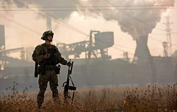 В зоне АТО после объявленного перемирия зафиксировали усиленные обстрелы