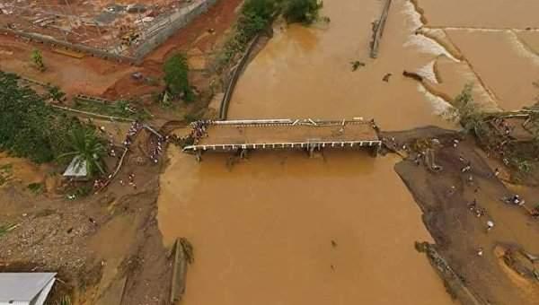 Число жертв от наводнений и оползней на юге Филиппин увеличилось до 111 человек