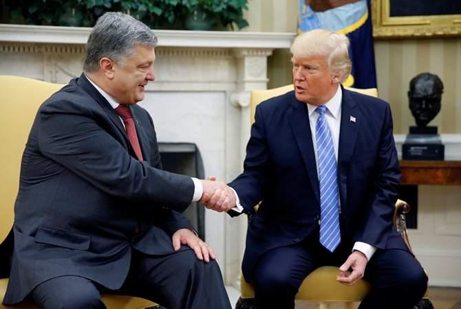 Порошенко подтвердил, что Украина получит летальное оружие от США