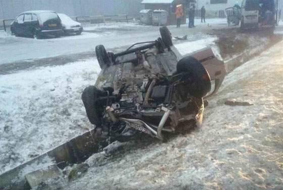 В Словакии в ДТП разбился автобус с работниками из Украины (фото)
