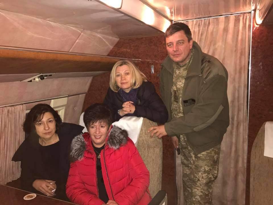 Первый вице-спикер Верховной Рады отправилась на Донбасс (фото)