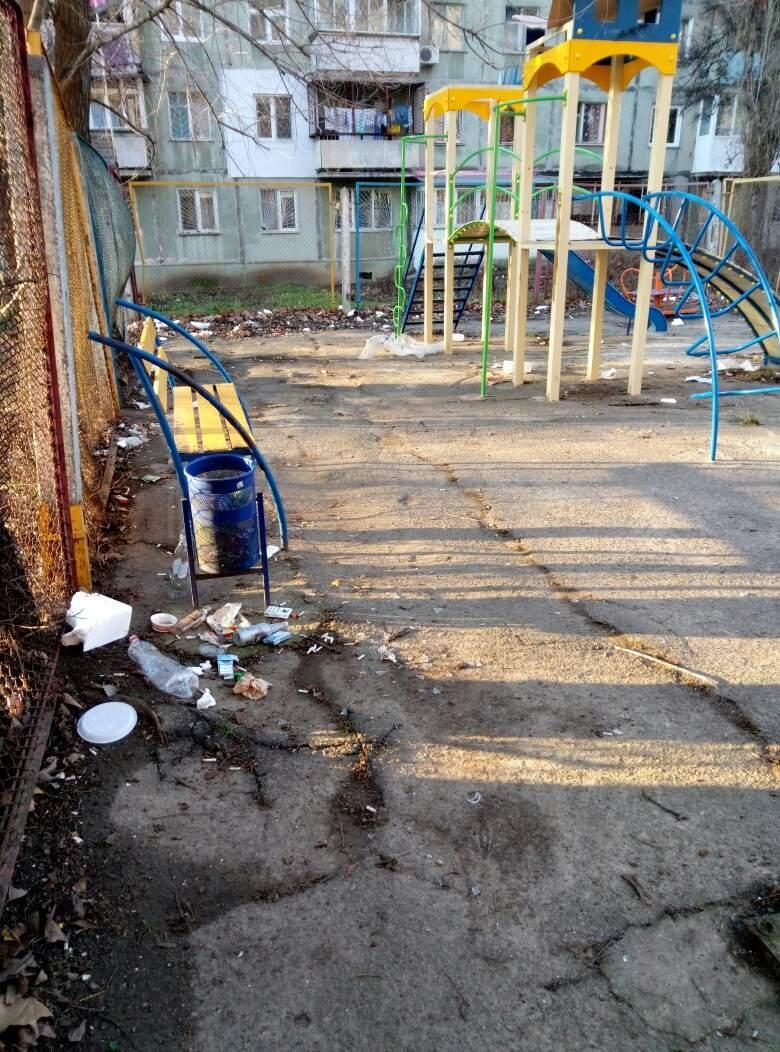 В Одессе детская площадка