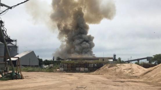 Жертвами взрыва на зерновом терминале в Аргентине стали 17 человек (видео)