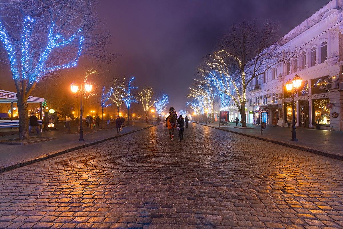 Предновогодняя Одесса в фотографиях
