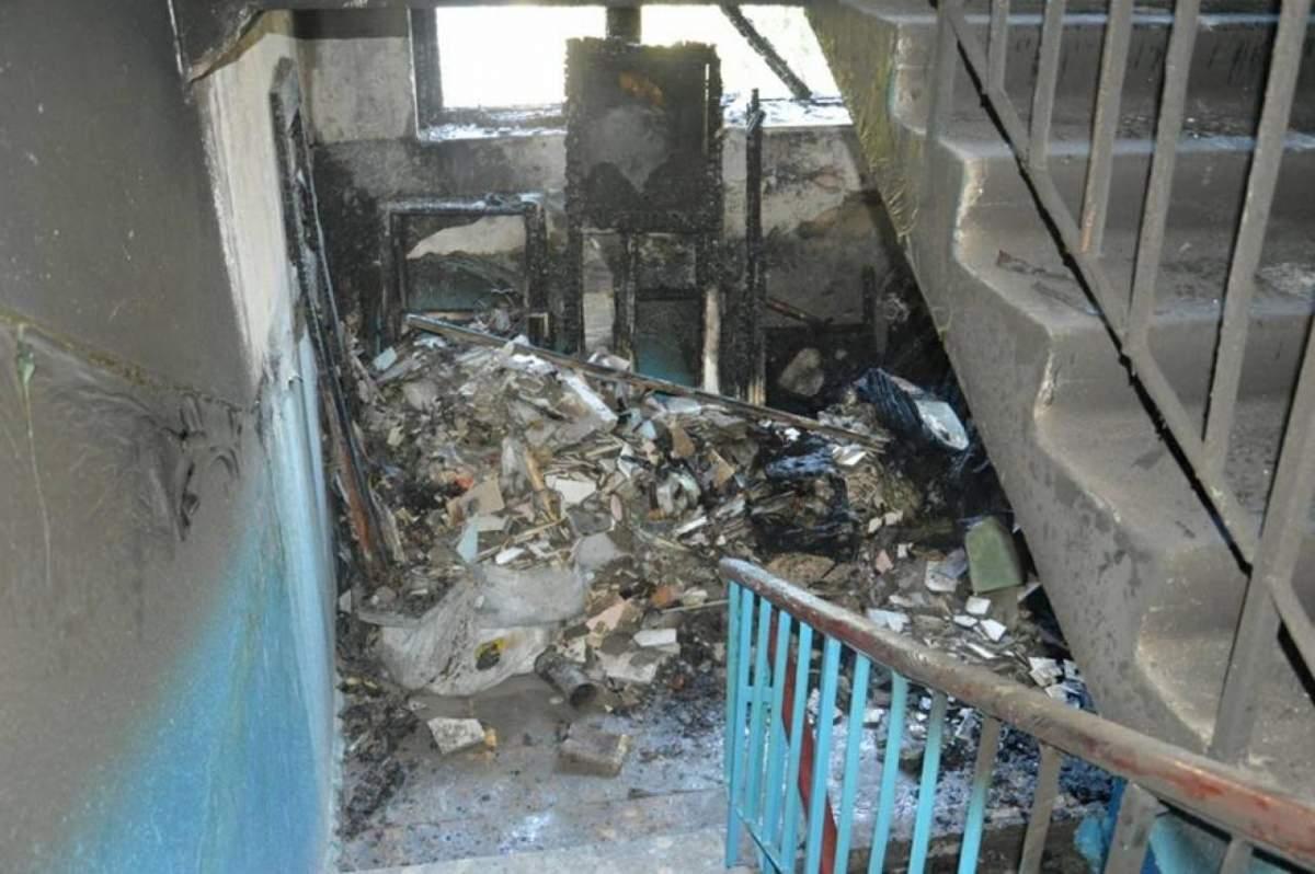 В Ровно в одном из многоэтажных домов горел подвал