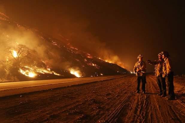 Бушующий пожар
