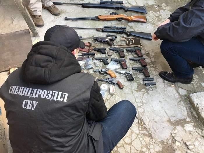 В Одесской области СБУ разоблачила торговца оружием (Фото)