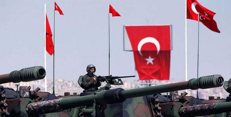 ВС Турции нанесли удар  по позициям сирийских курдов на севере Сирии