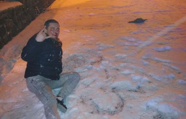 Подробности нападения на журналиста и его девушку в Ужгороде