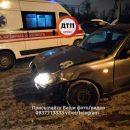 В Киеве произошла авария с пострадавшими (Фото)