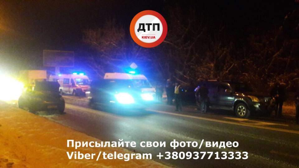 На Киевщине в результате кровавого ДТП пострадало 4 человека