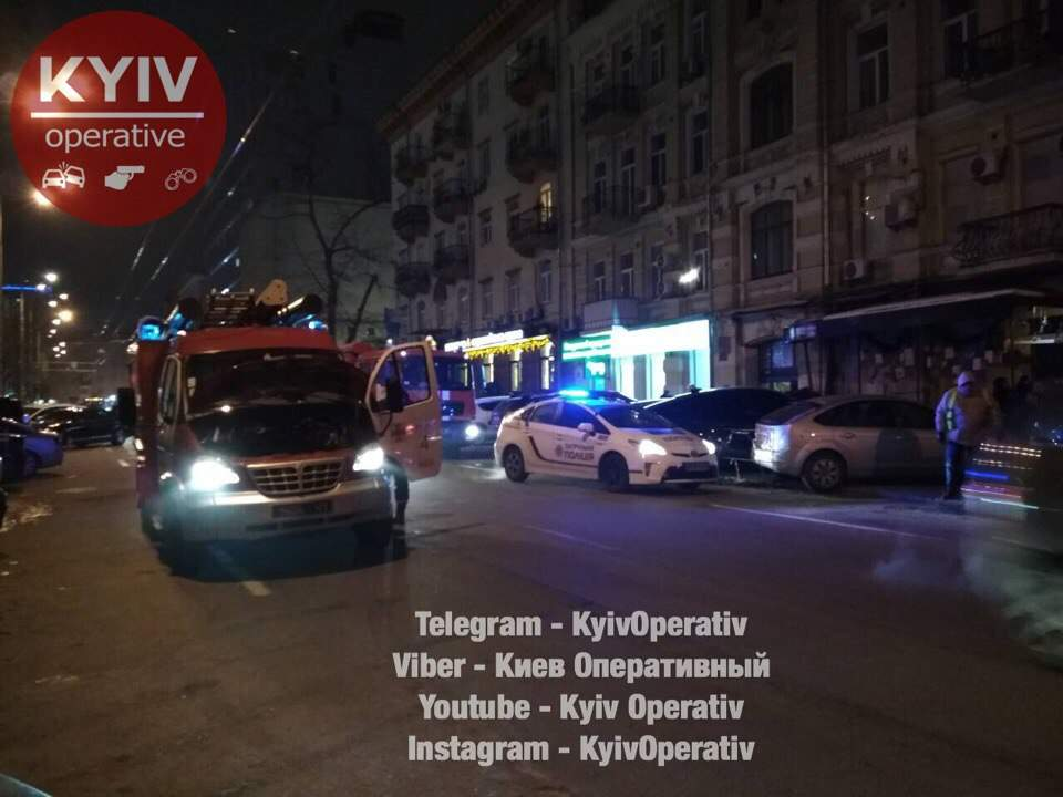 В центре Киева произошло короткое замыкание в электросети дома (фото)