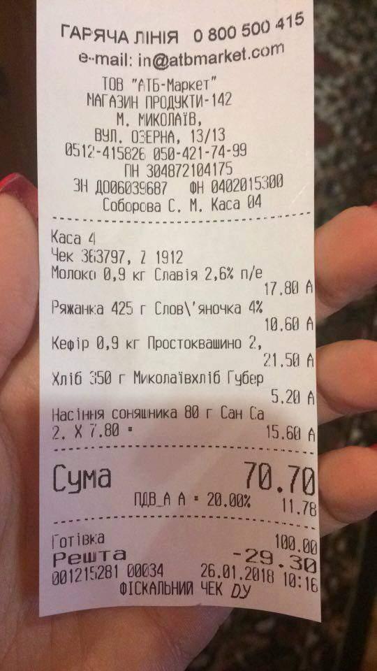 В николаевские магазины поставляют хлеб из будущего (фото)