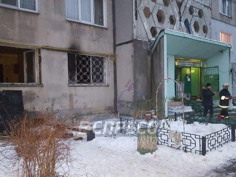 В столице на пожаре погиб человек (Фото)