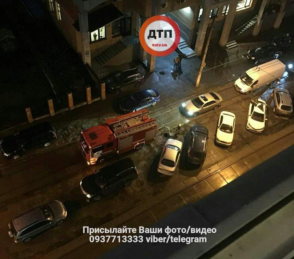 В центре Киева в известном ресторане произошел пожар (фото)