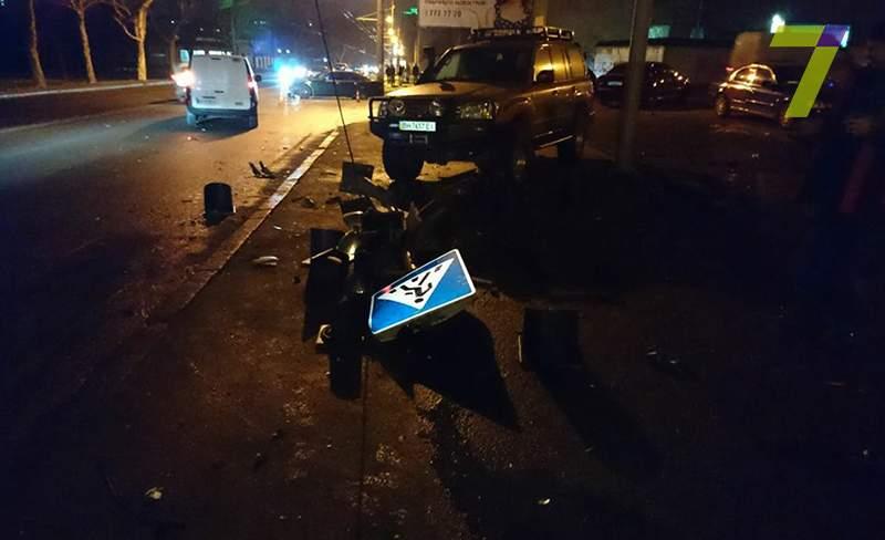В Одессе произошло кровавое ДТП с участием 5 авто (Фото)