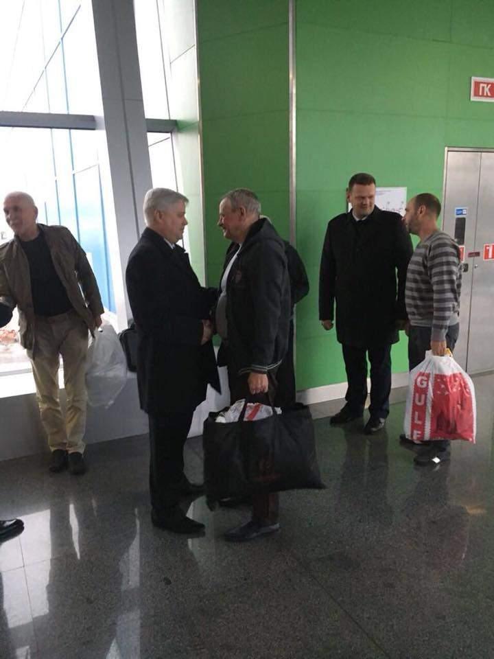 Из Ливии освободили пленных украинцев