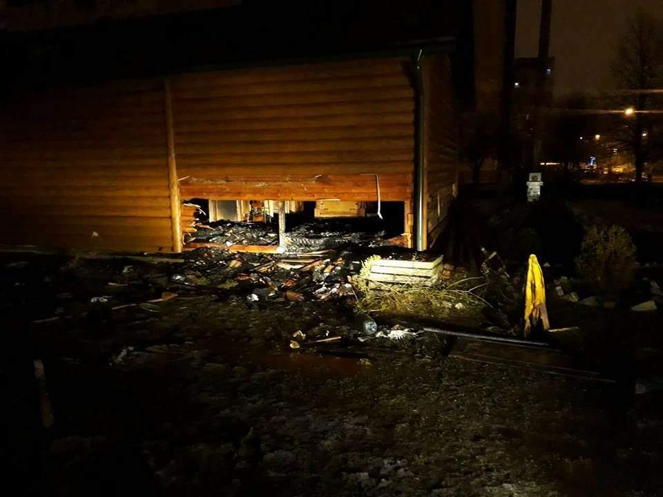 Во Львове ночью в православной церкви произошел пожар (фото)