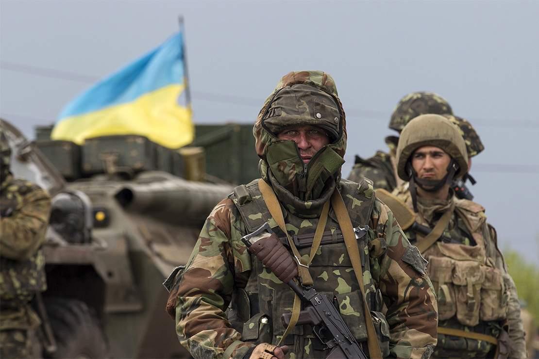 В зоне АТО  за сутки были ранены два бойца ВСУ