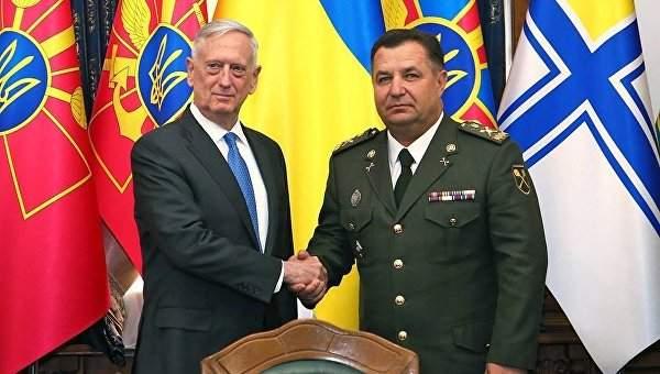 Глава Пентагона  процитировал строчки из украинского гимна