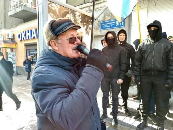 Митинг у консульства Польши в Харькове: Активисты-националисты обвинили Польшу в предательстве (Фото)