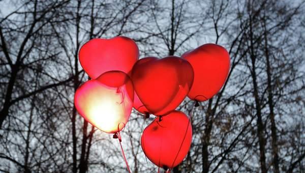В День Святого Валентина в Украине поженятся 1492 пары
