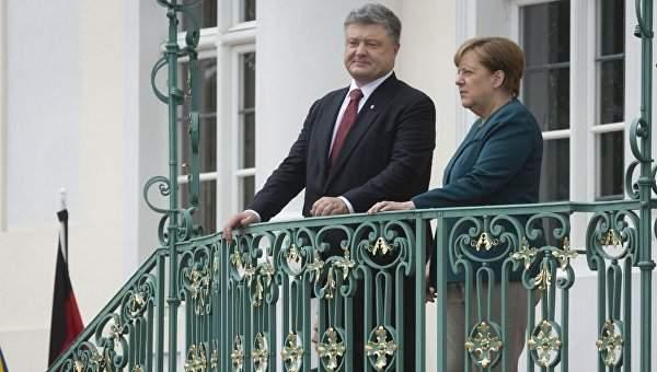 Порошенко планирует встретиться с Меркель по поводу участия Германии в урегулировании ситуации в Донбассе