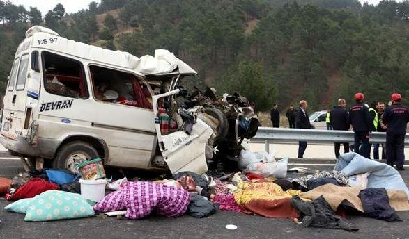 На юге Турции сокрушительное ДТП забрало жизни 9 человек