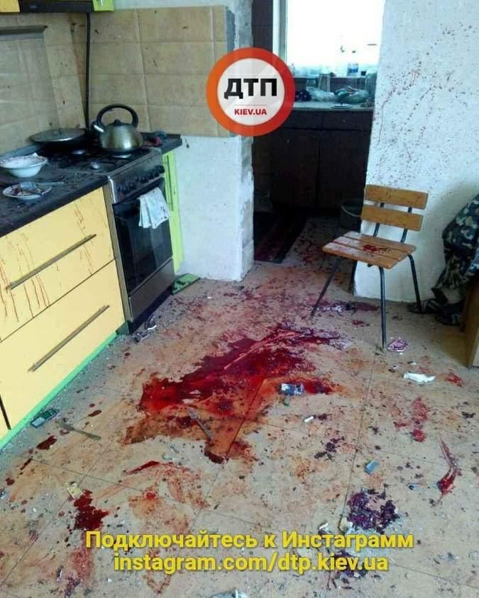 В Киеве произошел взрыв: Несколько пострадавших (Фото)