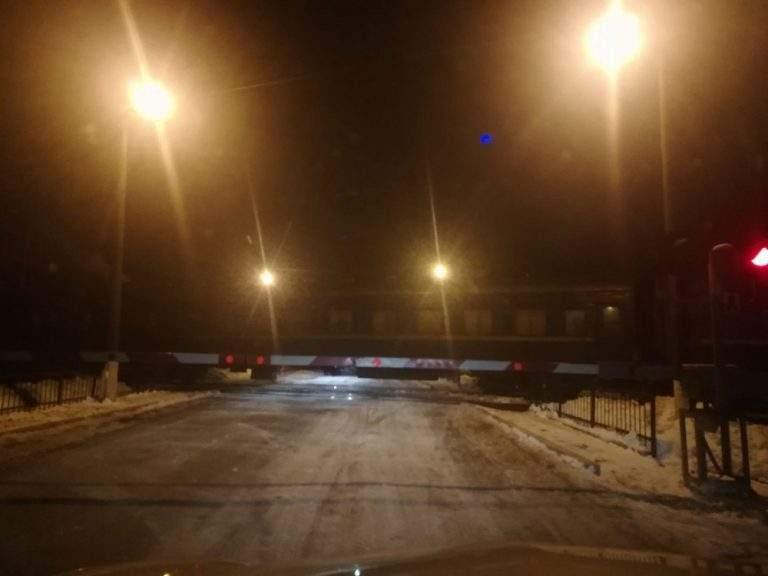 В Тернопольской области легковое авто столкнулось с поездом