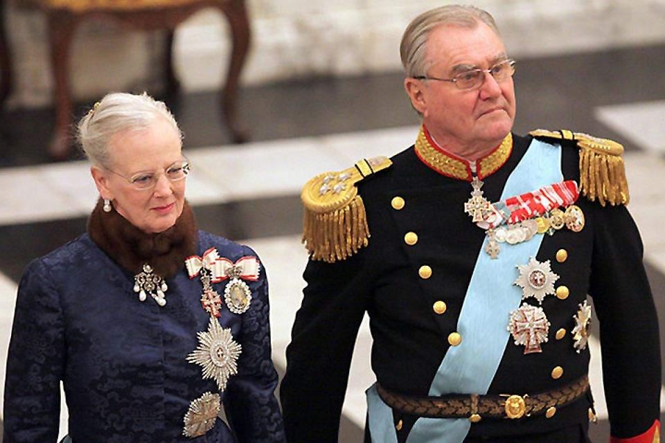 В Дании скончался супруг королевы