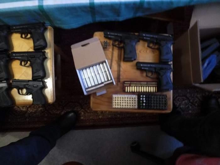 В Днепре обнаружили нелегальную оружейную мастерскую (Фото)